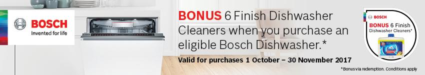Bosch Machine Care Dishwasher