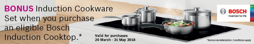 Bosch Induction Promo