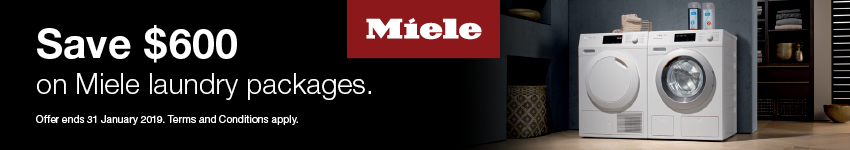 Miele Laundry Packages