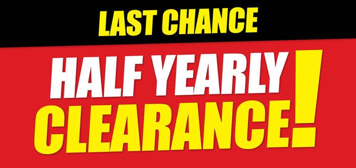 Last Chance Half Yearly