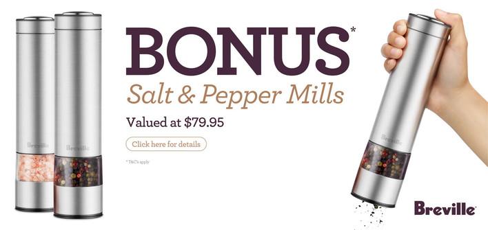 Breville Salt & Pepper Promo