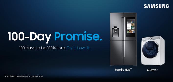 Samsung 100 Day