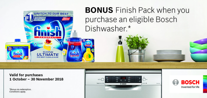 Bosch Finish Promo