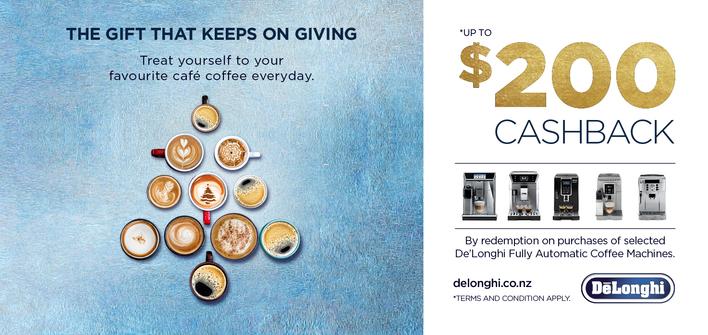 De'Longhi Coffee Cashback Christmas Promotion