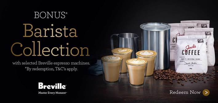Breville Espresso Machine Bonus