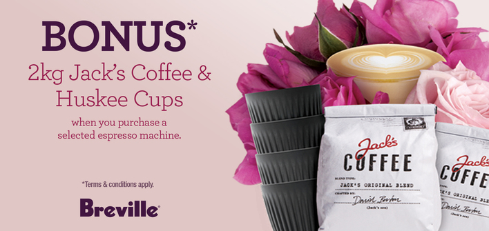 Breville Coffee Promo