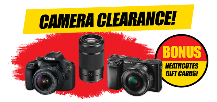 Clearance Cameras