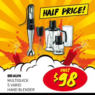 Dynamite Deals - Braun Blender