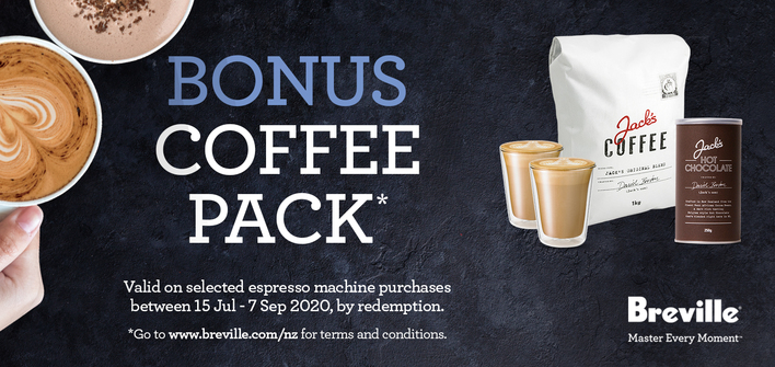 Breville Fathers Day Promo 2020 Coffee