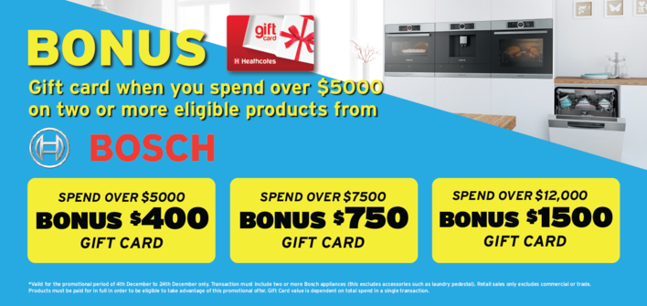 Bosch Giftcard