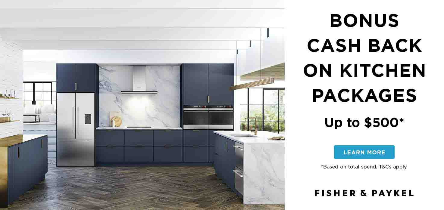 Fisher & Paykel kitchen appliances promo