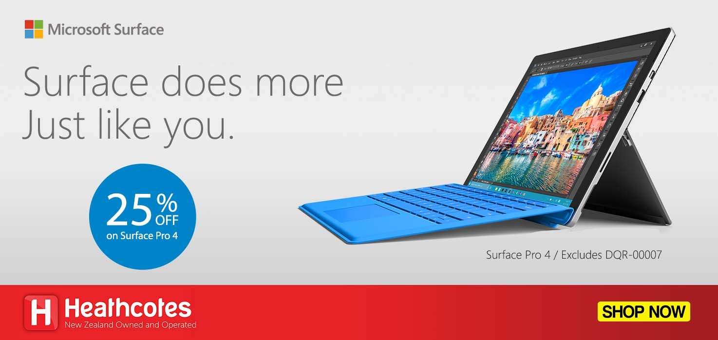 20% Off Surface Pro 4