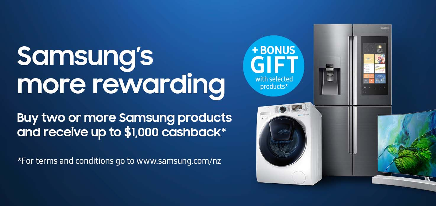 Samsung's More Rewarding Promotion - 13th Sep - 25th Oct 2017