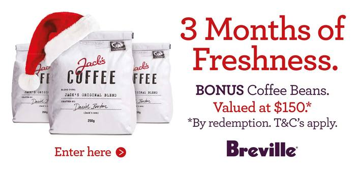 Breville Coffee Promotion