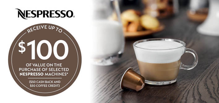 Nespresso Mothers Day Promotion