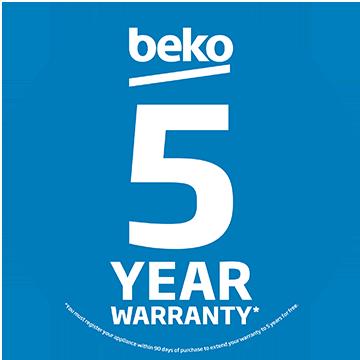 Beko 5 year warranty