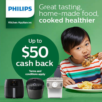 Philips Kitchen Appliance Promo