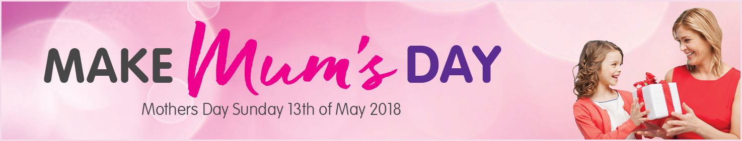Mothers day top banner
