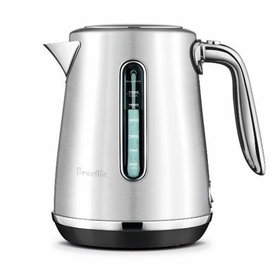 Breville the Soft Top Luxe Kettle Silver
