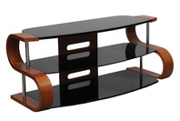 "OMP 3 SHELF 32-46"" TV TABLE WALNUT SUMMIT"