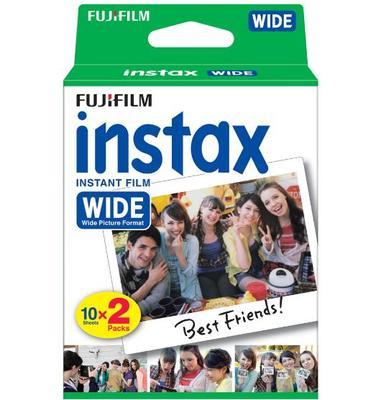 Fujifilm INSTAX Wide Film 20 Pack
