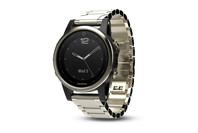 Garmin fenix 5S Champagne Sapphire Smartwatch w/ Metal Band
