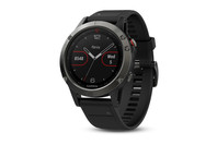 Garmin fenix 5 Smartwatch - Slate Gray with Black Band