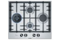 Bosch 60cm Gas Stainless Steel Cooktop