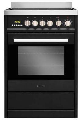 Parmco 60cm 70 L Ceramic Freestanding Oven - Black