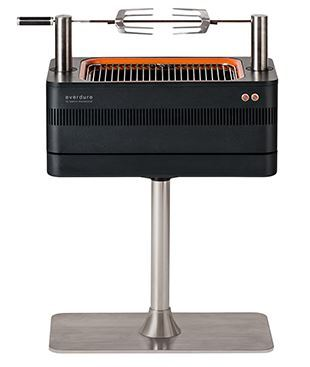 FUSION Electric Ignition Charcoal Barbeque with Pedestal - Everdure by Heston Blumenthal