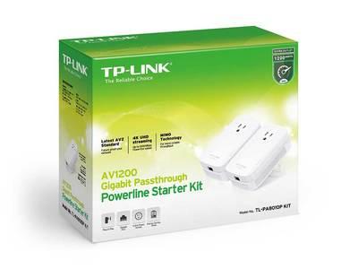 Av1200 gigabit passthrough powerline starter kit 4