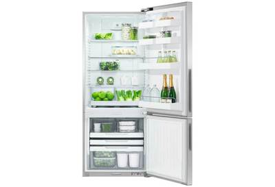 Fisher   paykel activesmart fridge   680mm bottom freezer 442l rf442brpx6