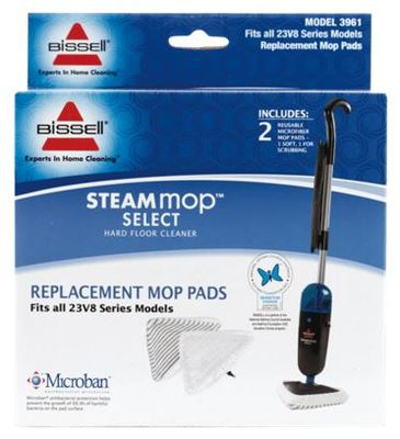 Bissell Steam Mop Select Replacement Pads Buy Online