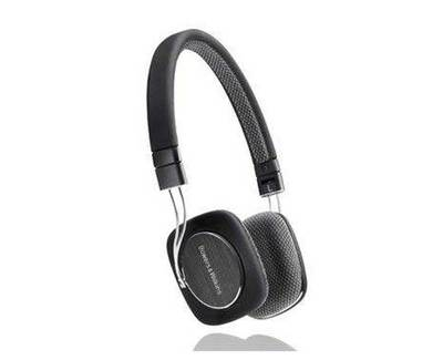 B w p3 headphones black p3b