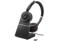 Jabra Evolve 75 Wireless Headset (UC) with Charging Stand