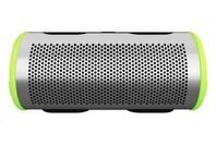 BRAVEN Stryde Waterproof 360 Bluetooth Speaker Silver/Green