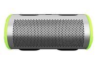 BRAVEN Stryde Waterproof 360 Bluetooth Speaker Silver/Green
