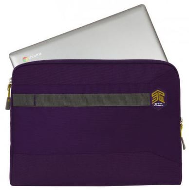 Stm summary laptop sleeve purple 4