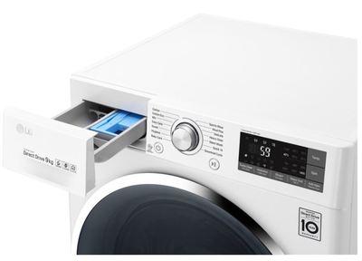 Lg 9kg front load washing machine wd1409ncw 4