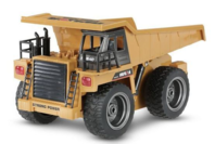 Huina 1/18 2.4G 6Ch RC Dump Truck with Die-cast Cab