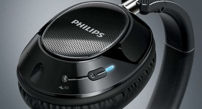 Philips wireless noise cancelling headphones shb9850nc 2