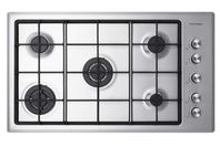 Fisher & Paykel 90cm Gas on Steel Cooktop