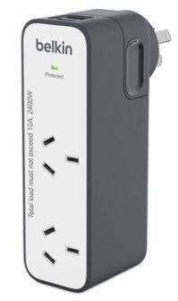 Belkin International Travel Surge 2 USB Ports