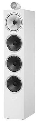 B&W 702 S2 Floorstanding Speaker - White