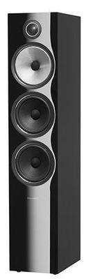 B&W 703 S2 Floorstanding Speaker - Black