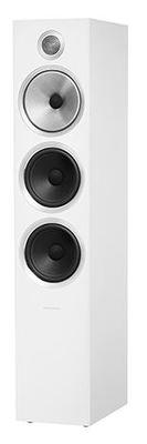 B&W 703 S2 Floorstanding Speaker - White