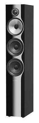 B&W 704 S2 Floorstanding Speaker - Black