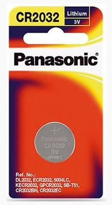 Panasonic 3V Coin Cell Batteries
