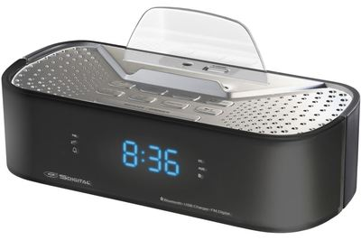 SDigital Q6 Bluetooth Alarm Clock