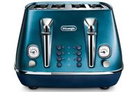 DeLonghi Distinta Flair 4 Slice Toaster Prestige Blue